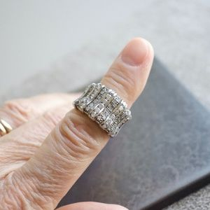 Jewelry - Cubic Zirconia Sterling Silver Ring